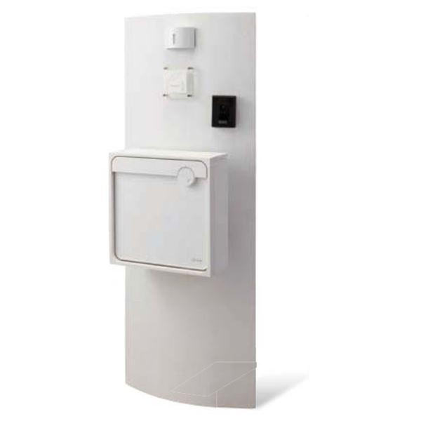 トーシン カーブス VOL.10 P73-1(本体・照明・表札・ポスト・ポストオプション付きセット) GW-CUV600-WH ホワイト