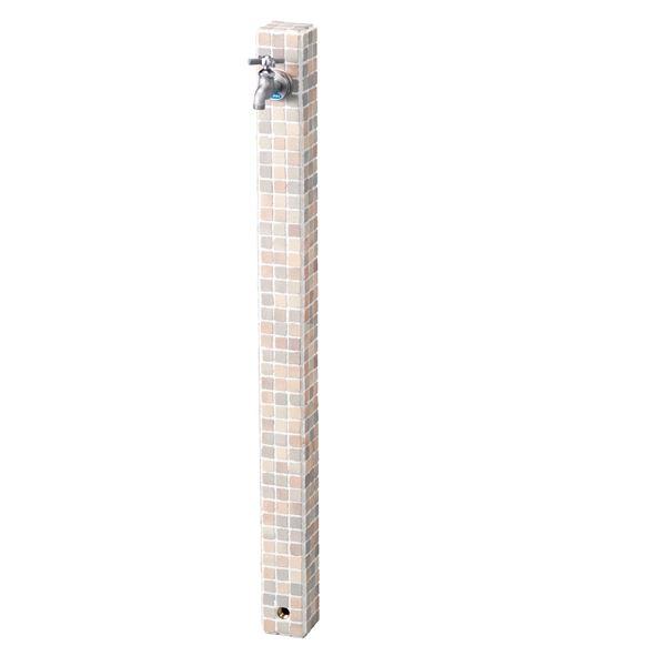 ニッコー 立水栓ユニット モゼック OPB-RS-23 シャーベット(ST) 『水栓柱・立水栓 蛇口は別売り ニッコーエクステリア』 シャーベット(ST)