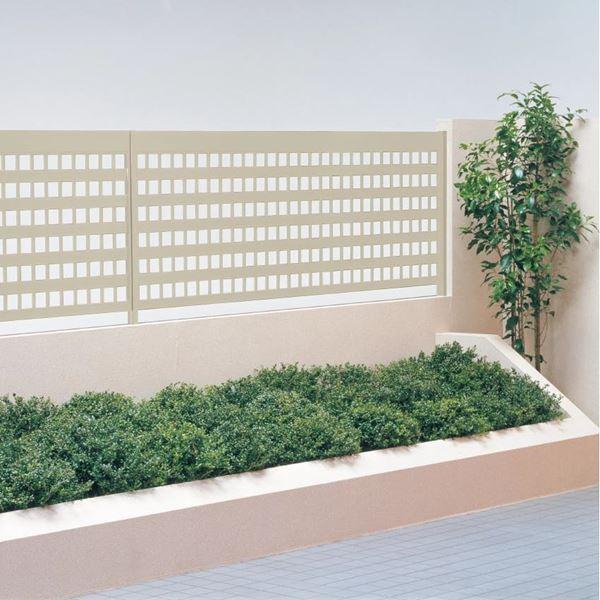 卓出 送料無料 四国化成 フラットシンプルなスタンダードフェンス ラインフェンス 1型 柱などのオプション商品は別売りです LNF1-1020 本体 H1000 信頼