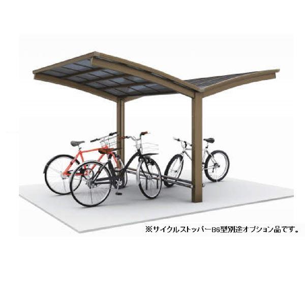 四国化成 サイクルポート V-R オープンタイプ Y合掌タイプ 基本セット(単独用) 積雪20cm 標準高 屋根材:アルミ樹脂複合板 VC-4431