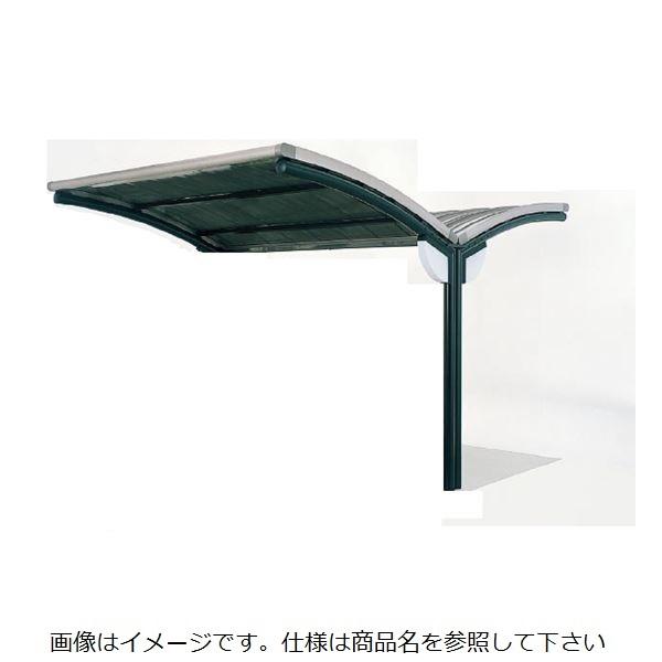 四国化成 サイクルポート SSR-R 積雪20cm Y合掌タイプ 標準タイプ 連棟ユニット 屋根材:アルミロールホーミング材 本体:ブラックつや消し/屋根材ステンカラー *連棟ユニット施工には基本セットの別途購入が必要です。 本体:ブラックつや消し/屋根