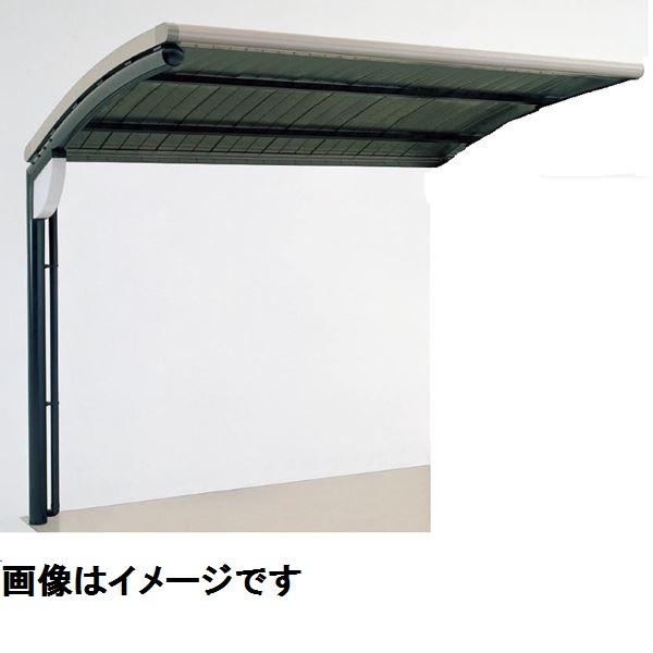 四国化成 サイクルポート SSR オープンタイプ 積雪20cm 標準タイプ 連棟ユニット ポリカーボネート波板屋根材  本体:ブラックつや消し/屋根材ブロンズ *連棟ユニット施工には基本セットの別途購入が必要です。 本体:ブラックつや消し/屋根材ブロンズ