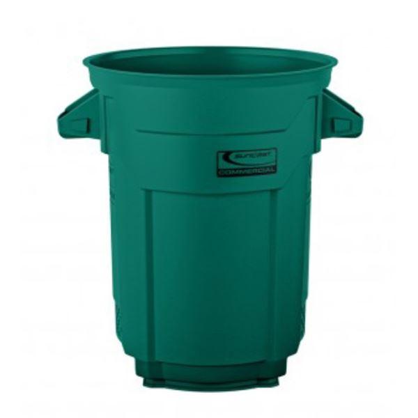 【個人宅配送不可】 SUNCAST ラウンドダストボックス75 BMTCU20 グリーン グリーン