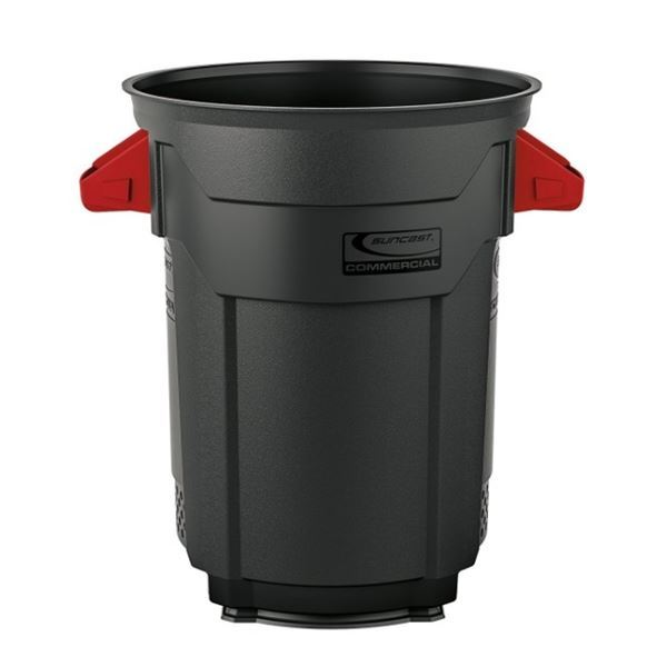 SUNCAST ラウンドダストボックス200 BMTCU55 ブラック ブラック