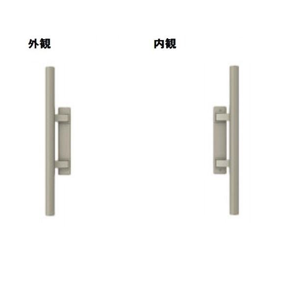 三協アルミ 形材門扉用 錠前 タッチ錠 内開き・片開き用 BH-01 『単品購入価格』