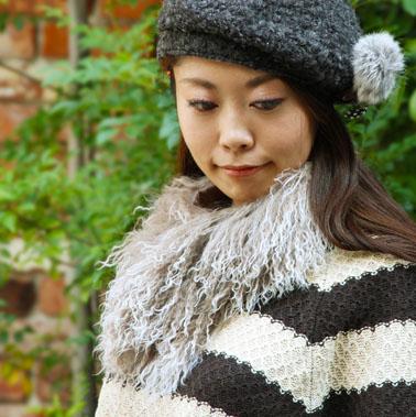 秀逸 パーティーにもオススメ ファーティペット チベットシープファー 激安セール カールした毛並みがかわいい