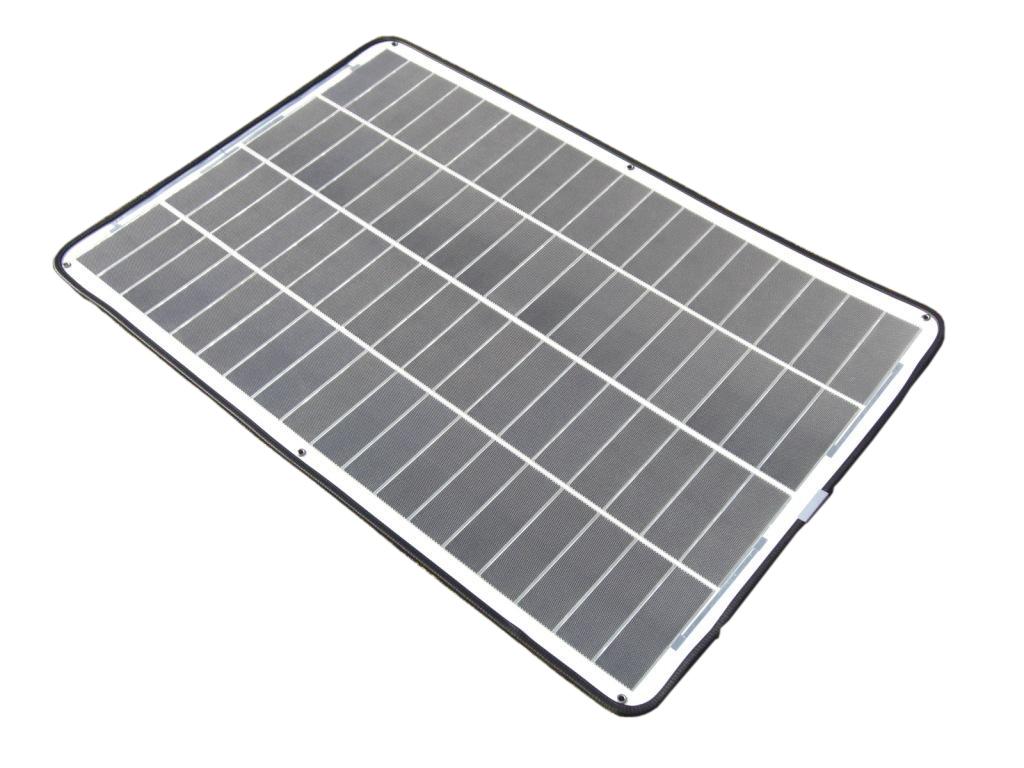 球状シリコン太陽電池 最大出力58W
