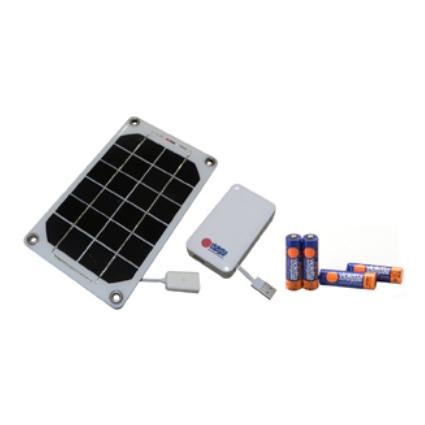 モバイル太陽電池バイオレッタソーラーギア VS02(ホワイト)