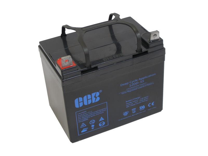 CCBバッテリー 12DD-33 33AhAGM(VRLA)ディープサイクルバッテリー【防災・地震・非常・救急 SA】