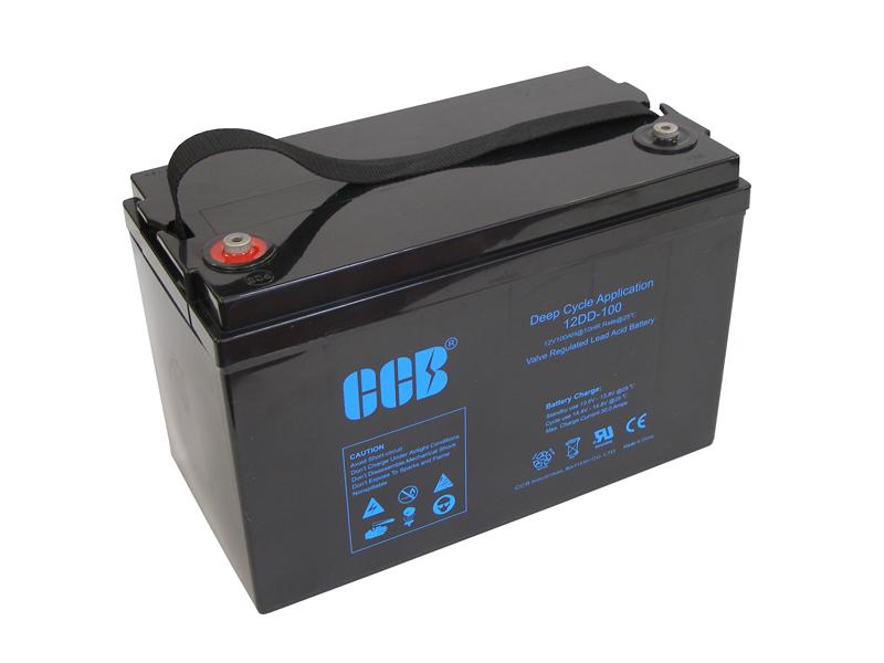 CCBバッテリー 12DD-100 100AhAGM(VRLA)ディープサイクルバッテリー【防災・地震・非常・救急 SA】