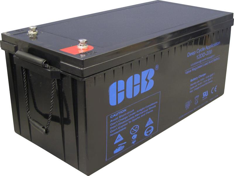 CCBバッテリー 12DD-200 200AhAGM(VRLA)ディープサイクルバッテリー【防災・地震・非常・救急 SA】