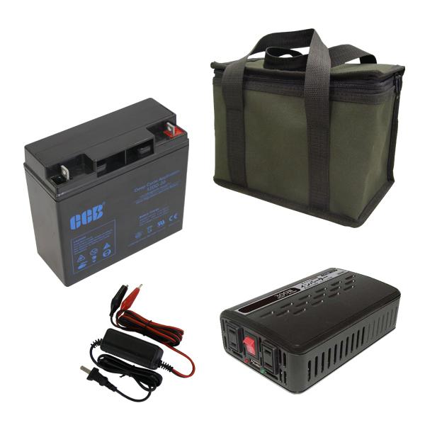 ポータブル電源 OUTDOOR POWER KITOP-20K野外や電源の無い場所でAC電源が使える