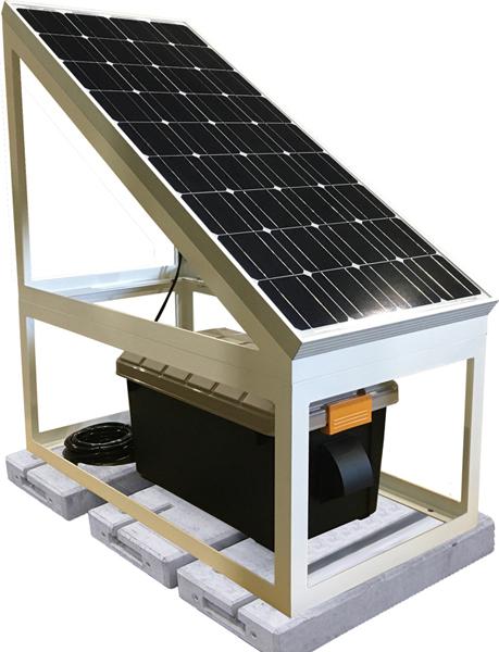 家庭用蓄電池&ソーラー発電システムEBS-1085