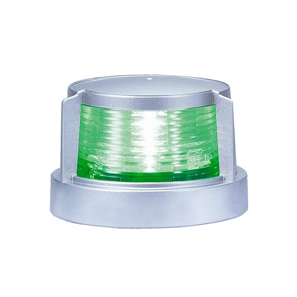 キサカ ボート 格安SALEスタート 用品 LED航海灯 第二種舷灯 緑 超激得SALE あす楽 スターボードライト 小糸 シルバー 506220