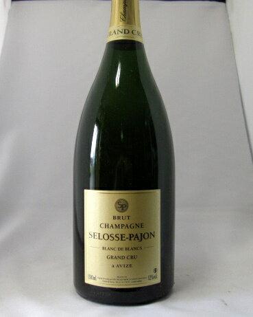 ブラン・ド・ブラン・グラン・クリュ・アヴィズ  [NV] セロス・パジョン 1500ml 【マグナム・ボトル】【あす楽】【フランス】【シャンパーニュ】【RM】【セロス】【スパークリングワイン】【白ワイン】