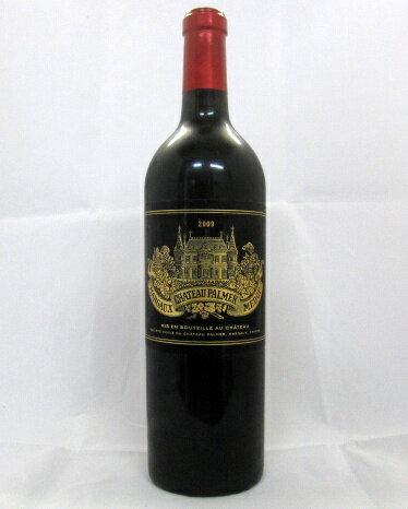 シャトー・パルメ [2009] 750ml (Palmer)【パーカーポイント98点】【フランス 】【マルゴー 地区】【メドック 第3級格付】【赤ワイン】【高評価】