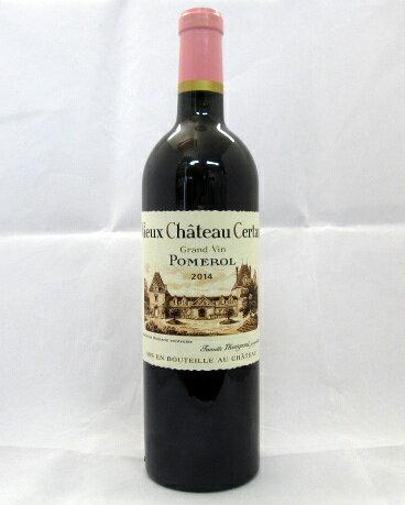 ヴュー・シャトー・セルタン[2014]750ml(Vieux Chateau Certan)【パーカーポイント95-97点】【フランス】【ボルドー】【ポムロル(ポムロール)】【赤ワイン】