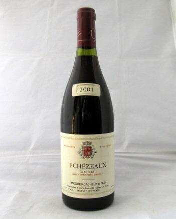 ジャック・カシュー[2001] エシェゾー グラン・クリュ750ml(Jacques Cacheux)【ブルゴーニュ】【赤ワイン】【フランス】【輸入元・フィラデス】