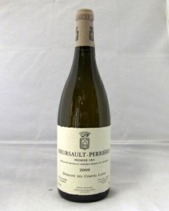 ペリエール WA94】【輸入元:フィラデス】【ブルゴーニュ】【白ワイン】(MEURSAULT ムルソー Outstanding ドメーヌ・コント・ラフォン[2009] 750ml Perrieres) Vinous95 プルミエ・クリュ 【AM95