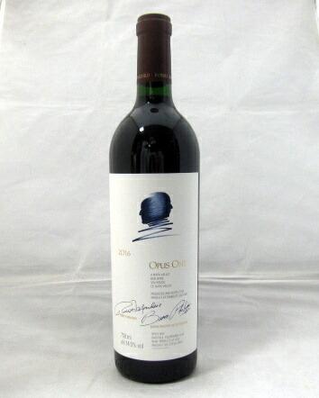 オーパス・ワン [2016] 750ml【フルボディ】【ワインアドヴォケイト97+点】【赤ワイン】【ロバート・モンダヴィ&シャトー・ムートン・ロートシルト】【カリフォルニア】【ナパ・ヴァレー】(オーパスワン 2016 Opus One 2016)
