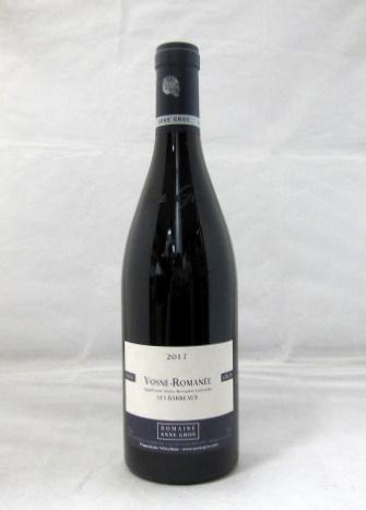 ヴォーヌ・ロマネ バロー アンヌ・グロ[2017] 750ml (Anne Gros) 【フランス】【ブルゴーニュ】【赤ワイン】