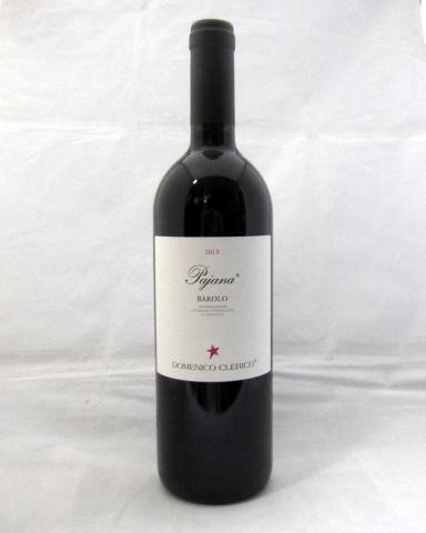 ドメニコ・クレリコ[2013] バローロ・パヤナ(Domenico Clerico Barolo Pajana) 750ml【バローロ・ボーイズのトップ生産者】【パーカーポイント95点】【イタリア】【赤ワイン】 【送料無料対象外商品】