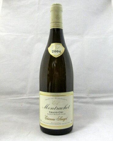 エティエンヌ・ソゼ [2004] モンラッシェ グラン・クリュ(Etienne SAUZET Montrachet Grand Cru)750ml【アラン・メドー 95ポイント】【ブルゴーニュ】【白ワイン】【白ワインのグレートビンテージ】