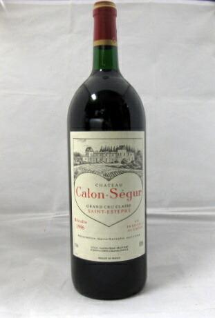 シャトー・カロン・セギュール [1996]1500ml【マグナム・ボトル】【フランス】【ボルドー】【サン・テステフ】【メドック第3級格付】【赤ワイン】【ハート・ラベル】