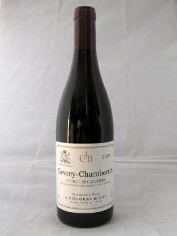 ジェイ・クドレィ・ビゾ ジュヴレ・シャンベルタン プルミエ・クリュ レ・カズティエ [2009] 750ml(Domaine J Coudray Bizot)【赤ワイン】【ブルゴーニュ】【フランス】【正規】