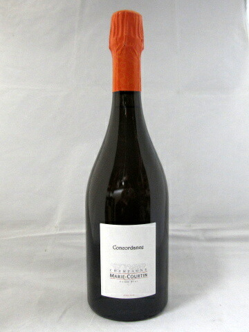 コンコルダンス エクストラ・ブリュット マリー・クルタン[NV]750ml(Marie-Courtin)【SO2を無添加】【ビオディナミ】【ブラン・ド・ノワール】【シャンパーニュ】【RM】【白ワイン・スパークリング】