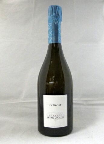 プレザンス エクストラ・ブリュット マリー・クルタン[NV]750ml(Marie-Courtin)【SO2を無添加】【ビオディナミ】【ブラン・ド・ブラン】【シャンパーニュ】【RM】【白ワイン・スパークリング】