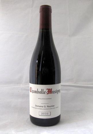 シャンボール・ミュジニー ジョルジュ・ルーミエ[2010]750ml (Georges ROUMIER) 【最安値】【輸入元・フィラデス】【フランス】【ブルゴーニュ】【赤ワイン】