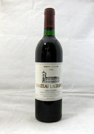 シャトー・ラグランジュ [1986] 750ml【WA92点】【フランス】【ボルドー】【第3級格付】【輸入元:フィラデス】【人気シャトー】【サン・ジュリアン】【赤ワイン】(Chateau Lagrange)