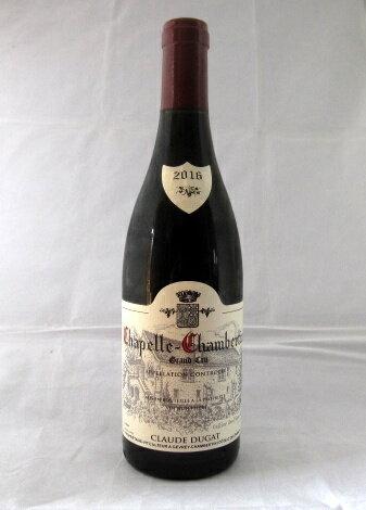 クロード・デュガ[2016] シャペル・シャンベルタン グラン・クリュ 750ml(Claude DUGAT)【正規】【フランス】【ブルゴーニュ】【赤ワイン】【パーカーポイント95-97点】【バーグハウンド91-93点】