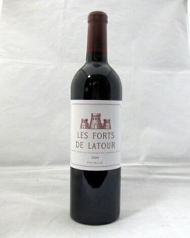 レ・フォール・ド・ラトゥール[2009]750ml【シャトー・ラトゥール】【パーカーポイント95点】【ボルドー】【ポイヤック】【第1級格付】【セカンド・ワイン】【赤ワイン】【輸入元・徳岡】(Les Forts de Latour)