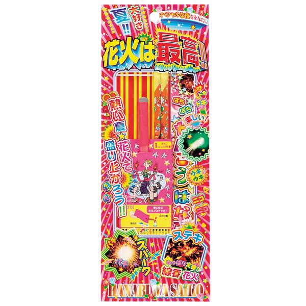 [ 花火 手持ち花火 ] 花火は最高!!No.100 ( 税別56円×20個 )幼稚園 祭り 景品 子供会 縁日