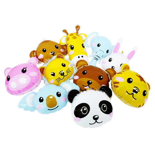 OISVN11789ビニール玩具 どうぶつ 景品 子供 おもちゃ エア玩具 ビニール玩具 幼稚園 安値 推奨 祭り パンチボール 子供会 25個 縁日