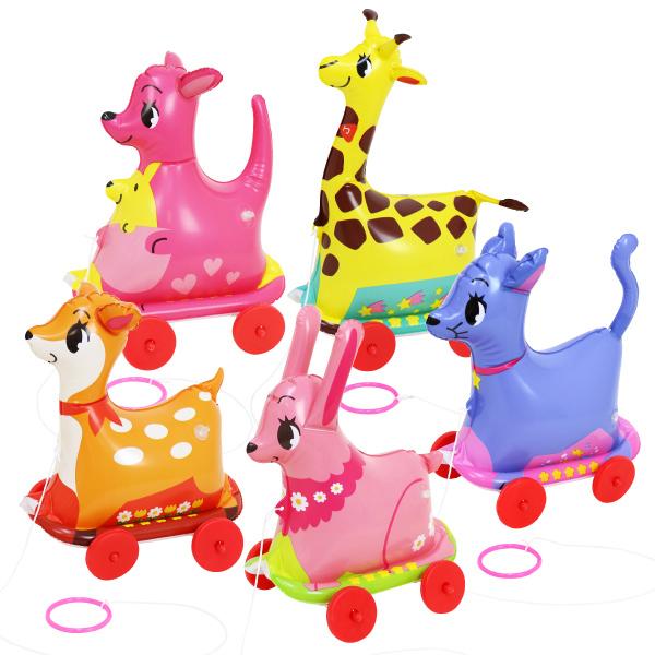 ビニール玩具 お散歩 おさんぽコロコロ キュート ケース特価 ( 税別\185×180個 )
