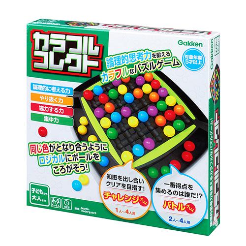GKSZG00429パズルゲーム 驚きの価格が実現 パーティーゲーム 室内遊び 家で遊べるおもちゃ カラフルコレクト 感謝価格 パズルゲーム 1個