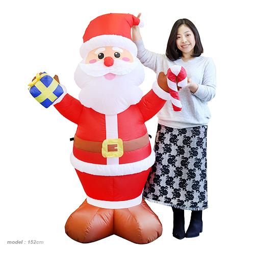 エアブロウ サンタ2018(税別\9600×1台) 《 クリスマス xmas イベント 子ども会 子供会 クリスマス 景品 ノベルティ お祭り 問屋 》