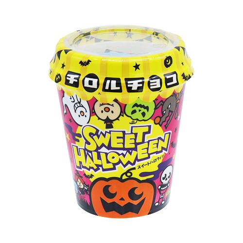 FHSDA03351 チロルチョコ 日本最大級の品揃え ●日本正規品● ハロウィンカップ 1袋