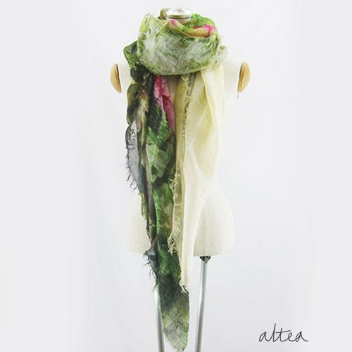 altea(アルテア)花柄大判ストール