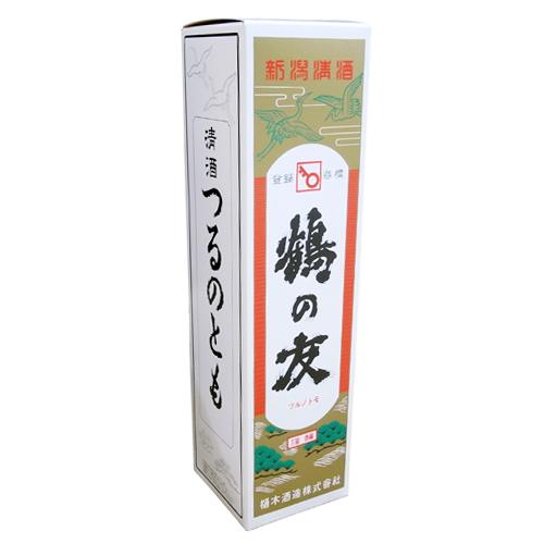 即納送料無料! 鶴の友 の化粧箱です 贈り物で使うときにどうぞ 800ml 1 オープニング 大放出セール 1本用化粧箱