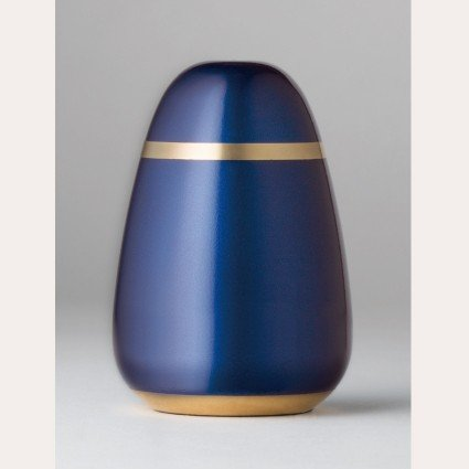 アイテム勢ぞろい ミニ骨壷 メーカー公式ショップ パレットエッグ ナイトブルー
