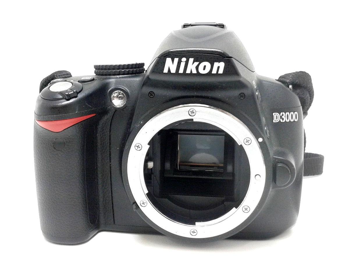 NIKON ニコン D3000 デジタル一眼レフカメラ【中古】デジカメ