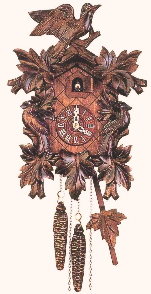 アントン・シュナイダー製カッコー時計はと時計112/9 1日巻モデル