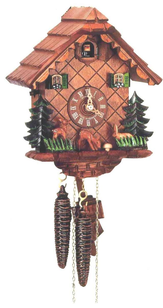 アントン・シュナイダー製カッコー時計はと時計1303/9 1日巻モデル
