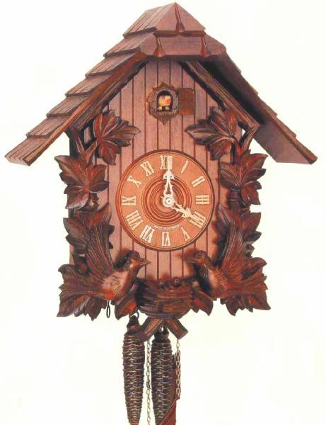 アントン シュナイダー製カッコー時計はと時計8T223 9 選択 買取 8日巻モデル