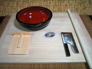 【L型】蕎麦打ち道具一式セット【送料無料】