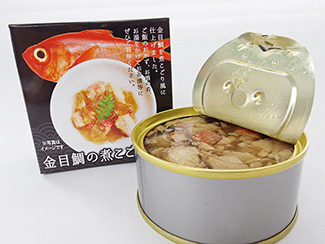 It is a canned finished 煮凝ri wind 煮凝ri wind splendens snapper. First gold as ochazuke. dying best